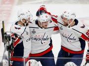 Die Spieler von Washington hatten allen Grund zum Jubeln (Bild: KEYSTONE/AP/ROSS D. FRANKLIN)