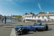 Morgen Sonntag werden die Formel-E-Rennautos an der Limmat vorbeiflitzen – 10 (Bild: Walter Bieri/KEY (Zürich, 20. April 2018))