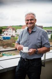 CVP-Stadtrat von 2011 bis 2017: Stefan Lenherr in seiner neuen Wohnung in Andwil. (Bild: Sabrina Stübi)