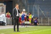 Serbiens neuer Trainer Mladen Krstajic. (Bild: Dominik Angerer/EPA)