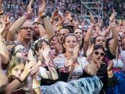 Tolle Stimmung im Kybunpark während des Konzerts von Andreas Gabalier. (Hanspeter Schiess)