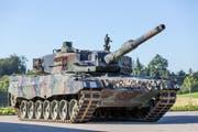 Die Leopard-Panzer sind aus dem ehemaligen Armee-Motorfahrzeugpark Rothenburg verschwunden. (Bild: Keystone/Gaëtan Bally, 17. Juli 2014)