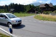 Auch der Abzweiger von der Mueterschwandenbergstrasse in die Kantonsstrasse wird überprüft.