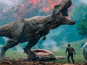 Der Film «Jurassic World» ist in Nordamerika weiterhin ein Kassenschlager. (Bild: KEYSTONE/AP Universal Pictures)