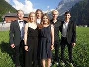 Patrick Marbacher, Nora Schweizer, Wendelin Gauger, Aline König, Andri Ragettli und Marco Kohler.