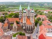 Der Naumburger Dom ist auf die Liste der Weltkulturerbestätten aufgenommen worden. (Bild: Keystone/DPA ZB/JAN WOITAS)