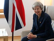 Die britische Premierministerin Theresa May wird in der Berichterstattung über den Brexit einer neuen Untersuchung zufolge am meisten zitiert. (Bild: KEYSTONE/AP REUTERS POOL/YVES HERMAN)