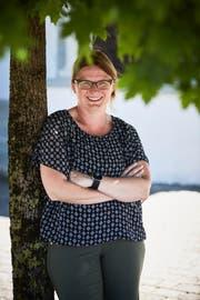 Beatrice Barnikol ist die neue Gemeindepraesidentin von Honau. (Bild: Jakob Ineichen 26.06.2018)).