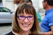 Fabiola Colombo Imhof, die Präsidentin des Vereins Gewerbe Weinfelden und Umgebung. (Bild: Werner Lenzin)