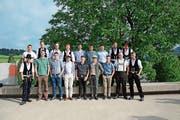 Die Appenzeller «Hölzigen» haben dieses Jahr ihre Ausbildung besonders gut abgeschlossen. (Bild: Karin Erni)