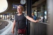 Johanna Näf ist nach ihrem Aufenthalt in Berlin wieder zurück in Zug. (Bild: Jakob Ineichen)