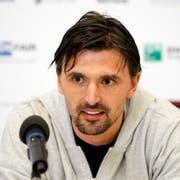Der frühere Tennisprofi Goran Ivanisevic stichelt gegen die Engländer. (Bild: Keystone)