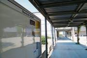 Auch auf dem Schulhausplatz der Oberstufe in Goldach sind Littering und Vandalismus ein bekanntes Problem. (Bild: Jolanda Riedener)