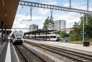 Vom Bahnhof Kreuzlingen könnten bald S-Bahn-Züge in Richtung Konstanz abfahren. (Bild: Reto Martin)