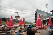 Streit um gemeinsame Tickets: Luftseilbahn auf den Chäserrugg. (Bild: Ralph Ribi)