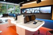 Das Studio von Radio Pilatus im Maihof. (Bild: Boris Bürgisser, Luzern, 13. Oktober 2015)