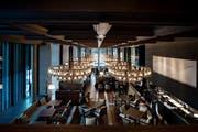 Das Hotel The Chedi in Andermatt. (Bild: Pius Amrein, Andermatt, 9. Dezember 2013)