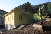 Die Hütte ist umfassend umgebaut worden. (Bild: PD)