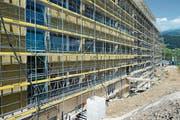 Beim Neubau des Produktionsgebäudes der Maxon Motor AG in Sachseln war auch die Carl Garovi AG involviert. (Bild: PD)