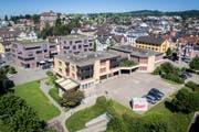 Bereits 2015 hätte das Andreaszentrum im Gossauer Ortskern einem Neubau weichen sollen. Seither hat sich wenig getan. (Bild: Benjamin Manser)