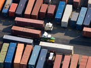 US-Importzölle: Die Schweiz schaltet im Zollstreit die Welthandelsorganisation WTO ein. (Bild: KEYSTONE/AP/Mark Lennihan)