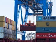 Das US-Defizit im Handel mit China beträgt rund 335 Milliarden Dollar. (Bild: KEYSTONE/EPA/CJ GUNTHER)