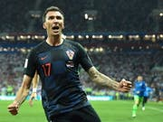 Mario Mandzukic schoss Kroatien ins Glück (Bild: KEYSTONE/EPA/PETER POWELL)