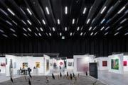 2017 fand die Art Bodensee erstmals in den neuen Messehallen der Architekten Marte.Marte statt.