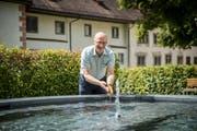 Er kennt alle und jeden: Werner Ibig ist Direktor des Klosters und Präsident des Verkehrsvereins.