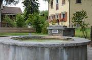 Sennwald geht mit gutem Beispiel voran und hat wegen der Trockenheit das Wasser einiger Dorfbrunnen abgestellt. (Bild: Corinne Hanselmann)