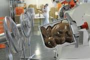 Der Luzerner Schokoladenhersteller Schönenberger ist auf Marken- und Werbeschokolade spezialisiert und wurde im April von Heidi Chocolat aus Zug übernommen. (Bild: Boris Bürgisser (Reussbühl, 25. März 2009))