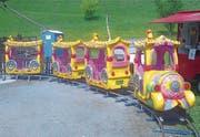 Mit einer solchen Kinder-Eisenbahn kann am Jahrmarkt gefahren werden. (Bild: PD)