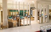Die Boutique von Bucherer an der Oxford Street in London. (Bild: PD)