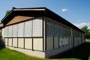 Der Pavillon zwischen der Gemeindeverwaltung und der Sekundarschule Tägerwilen. Er hat bald ausgedient. (Bild: Kurt Peter)