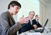 Als Ökonomin im St.Galler Finanzdepartement begleitete Monika Engler die Sparpakete des Kantons. (Bild: Reto Martin)