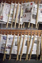 Früher war die Pressevielfalt im Appenzellerland grösser. Die «Appenzeller Zeitung» hat verschiedene Blätter gekauft. (Bild: APZ)