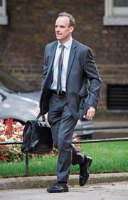 Der neue Brexit-Minister: Dominic Raab. (Bild: Sean Dempsey/EPA, London, 11. Juli 2018)