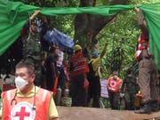Thailand will den Ort der spektakulären Höhlen-Rettung zur Touristenattraktion machen. (Bild: KEYSTONE/EPA CHIANG RAI PR OFFICE/CHIANG RAI PR OFFICE HANDOUT)