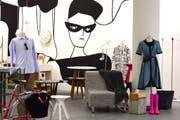So kann man sich den Laden ungefähr vorstellen: Ein früheres Popup von «Swiss Design Market». (Bild: PD)