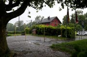 Dereinst soll in der Chollermühle wieder ein Centro Español stehen. (Bild: Stefan Kaiser, Zuger Zeitung)