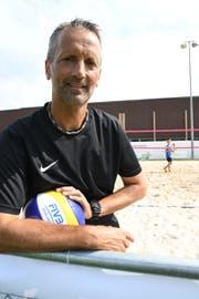 Tom Schnegg ist OK-Präsident der Amriswiler Beachvolley-Woche. (Bild: Rita Kohn)