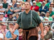 Martin Grab bei seinem letzten Auftritt - am Schwyzer Kantonalfest in Sattel (Bild: KEYSTONE/ALEXANDRA WEY)