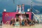 Disco-Feeling aus den 1970er-Jahren auf dem Thunersee. (Bilder: PD)