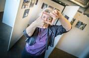 Monica Beurer ist Fotografin und betrachtet die Welt durch ihren Zauberrahmen. (Bild: Andrea Stalder)