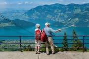 Künftig sollen noch mehr Touristen Aussichten wie diese auf der Klewenalp geniessen. (Bild: Boris Bürgisser (28.Juni 2016))