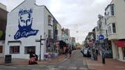 «El Capitano» - Die Beliebtheit von Brightons Captain Bruno zeigt sich auch im Stadtbild. (Bild: Ruben Schönenberger)
