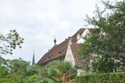 Lustwandeln entlang der Mönchsklausen der Kartause Ittingen.