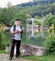 Die Aufbauarbeiten für die «La Traviata»-Bühne am Werdenbergersee haben begonnen.