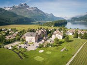 Parkhotel Margna in Sils Baselgia.