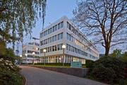 Der Hauptsitz von Glencore International AG in Baar. (Bild: Martin Ruetschi)